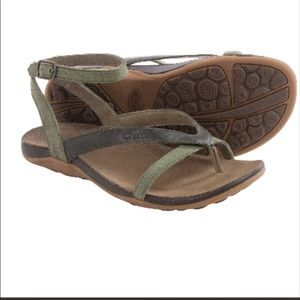 Chaco Leather Sandals 8 Worn 1x